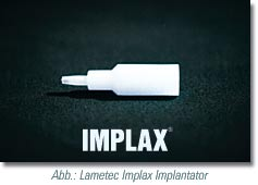 lametec implax akupunktur implantat